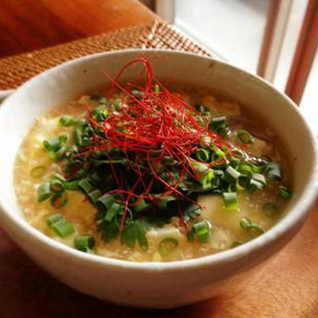 豆腐 スープ 卵