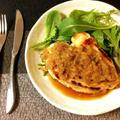 お祝いの旨さ。鶏むね林檎シャリアピンバターステーキ(糖質7.0g) by ねこやましゅんさん
