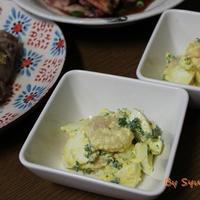 大分産パセリ使用の『たっぷり卵のパセリと海老のタルタルサラダ』~おおいたクッキングアンバサダー~