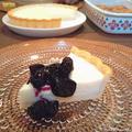 ヨーグルトとクリームチーズでレアチーズケーキとベイクドチーズケーキ by にゃあぱんさん