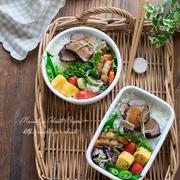 常備菜☆煮豚弁当。