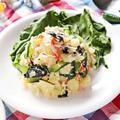 かにかまとじゃがいものおかかポテトサラダ【高たんぱくなダイエットポテサラ】|レシピ・作り方