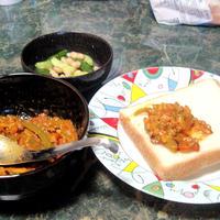 レンチンで作る☆キュウちゃんの納豆カレー