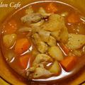 カレー材料の野菜と鶏肉でボルシチを作ってみました。