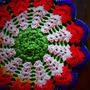 お花の座布団