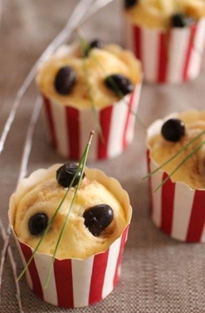 【動画レシピ】黒豆リメイク♪ホットケーキミックスで簡単蒸しパン