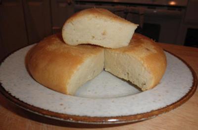 炊飯器とパンケーキミックスでプリンパン風味のケーキ