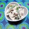 バジル香る♪梅風味の蓮根サラダ