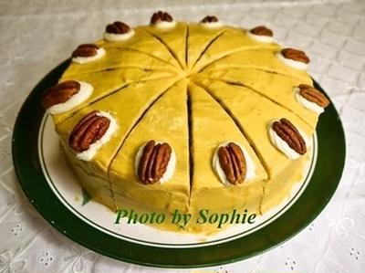 パンプキン・メープルケーキのレシピ