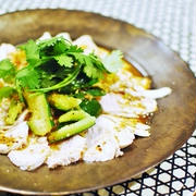 中華風ピリ辛蒸し鶏