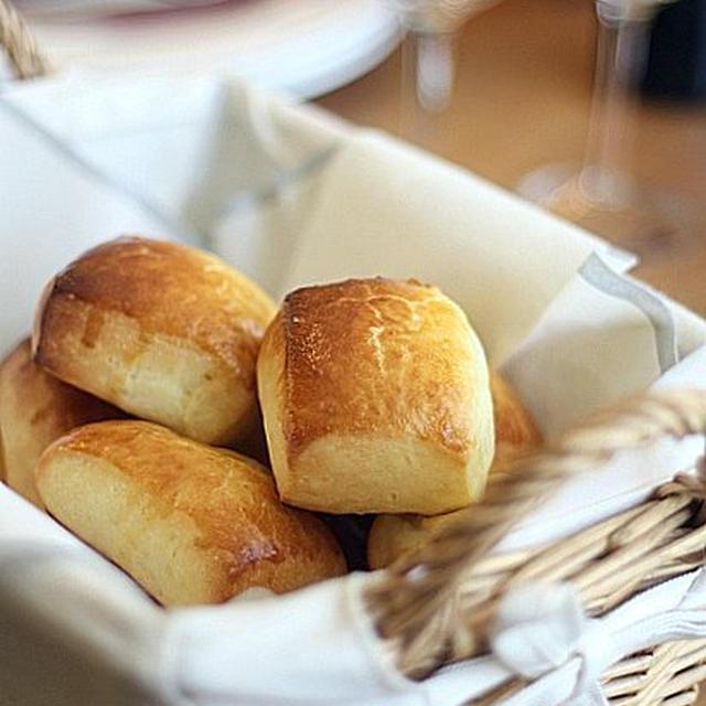 ホットケーキミックスを使うシンプルカットパン