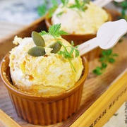 パンプキン&クリームチーズアイス キャラメルシナモン風味