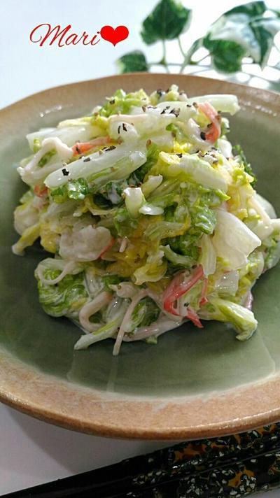 モリモリ旨い☆人気の白菜サラダ