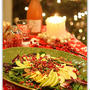 Pomegranate and Pear Christmas Salad