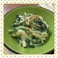 豆腐をそのまま混ぜるだけ、超手抜き&簡単、ほうれん草の胡麻白和え(レシピ付) by kajuさん