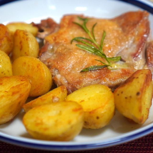 結局こういうのが良い…ジャガイモと鶏肉のソテー