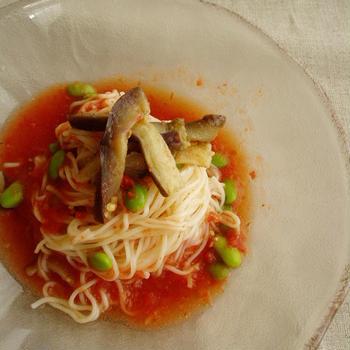 夏野菜素麺