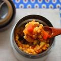 家にある調味料で簡単!「スープジャーカレー」のお弁当