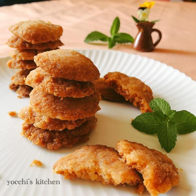 パン粉でつくるよ♫ 簡単ザクザクッキー