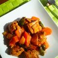 タバスコ de ピリ辛★鶏と野菜のケチャマヨ炒め
