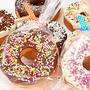 バレンタインに間に合うチョコレートバームクーヘン【コンビニスイーツと板チョコで作る】