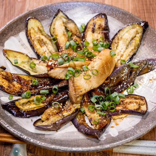 薄く切ってさっと焼く「茄子とエリンギの蒲焼風」&「丹波篠山で食べた地味に美味しい食堂」
