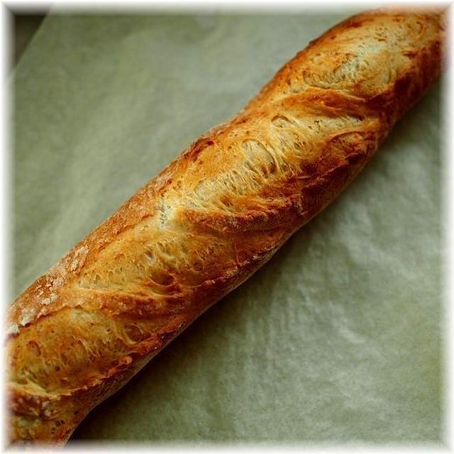 捏ねない!簡単フランスパン