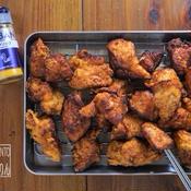 タンドリーチキン風、鶏むね肉の唐揚げ