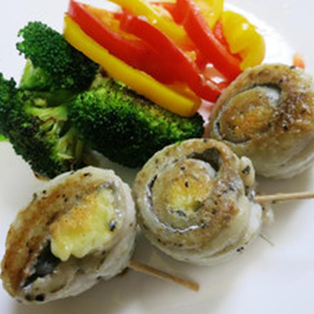 細い太刀魚チーズ巻