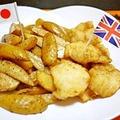 クミン風味のガーリックフィッシュ☆フライドポテト&【受賞】 by とまとママさん
