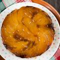 取っ手のとれるティファール鍋で作るアップサイドダウンケーキ