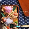 「トナカイの休日」と11月からクリスマスお弁当を作り続けてネタ切れしそう(;^_^A<キャラ弁> by となりんりんさん