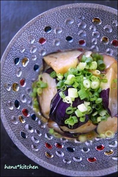 簡単:茄子の揚げ浸しのレシピ。これからの時期は冷たくして♪