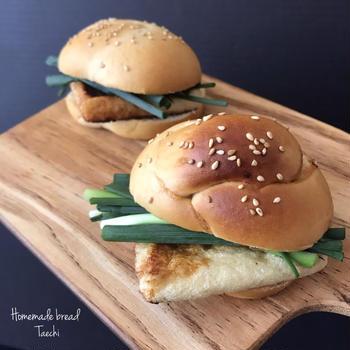 【個性的レシピ】お醤油パンde 油揚げサンド