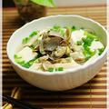 あさり豆腐麺