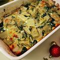 【簡単で豪華なパーティレシピ】コステ(青菜野菜)のグラタン
