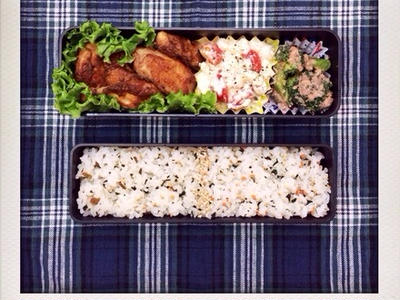 >ささみの生姜焼きのおべんと。 by izumi_obentoさん