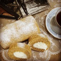 ノンオイル紅茶ロールケーキ作り~片づけの洗い物はキュキュットCLEAR泡スプレーを体験♪♪
