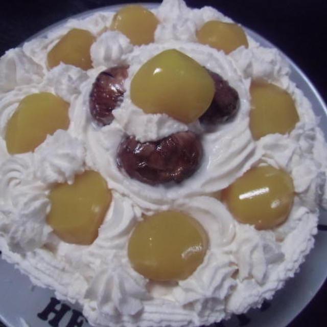 マロン栗ケーキ≪キッチンラボ≫