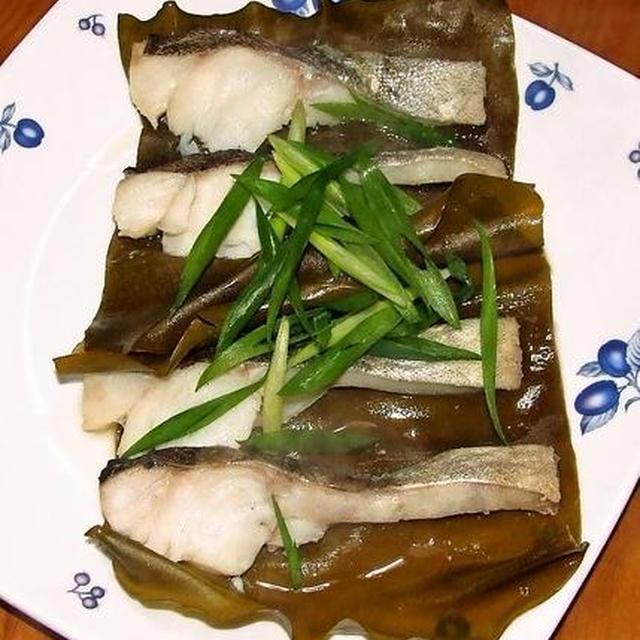 鱈の昆布蒸し&豆腐の蒲焼き