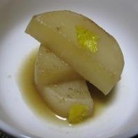 柚子胡椒ポン酢の大根煮&あなたはkiwi?それとも金柑???♡