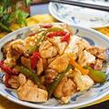 食べ応えバツグン♪ボリューム満点の鶏もも肉の回鍋肉