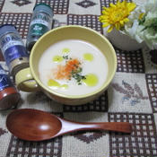 白菜と白ネギのポタージュスープ
