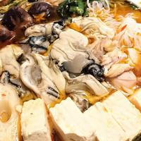【レシピ】絶品★やみつき★旬★牡蠣のダブルパワー★最後の汁まで美味しく【ピリ辛オイスター牡蠣鍋】