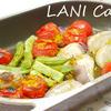 カレー風味のグリル野菜
