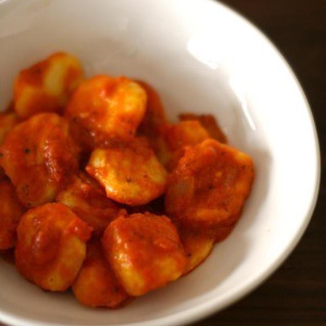 トマトソース&トラウマニョッキ克服