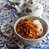 高野豆腐のルーロー飯風