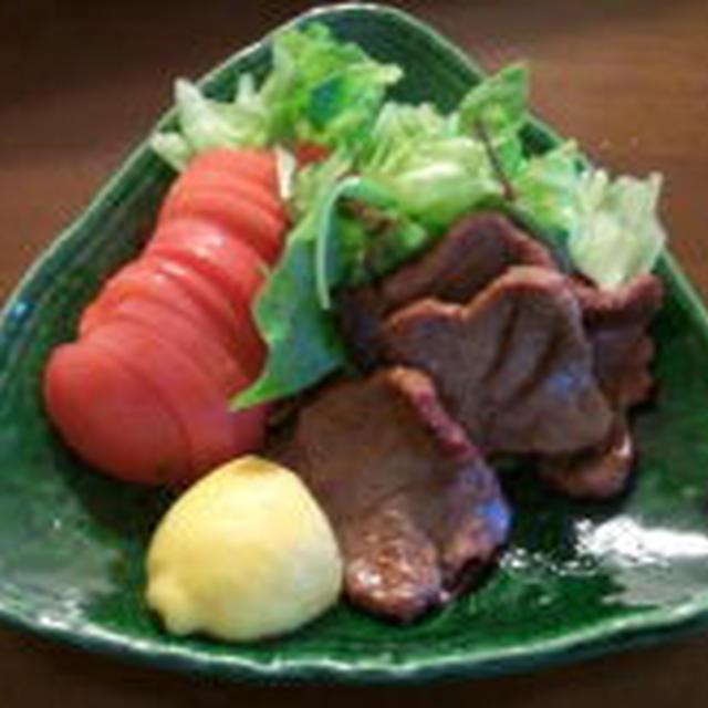 仙台からの贈り物♪ ~魚焼きグリルde さっぱり★牛タン塩焼き~ クックパッドに紹介