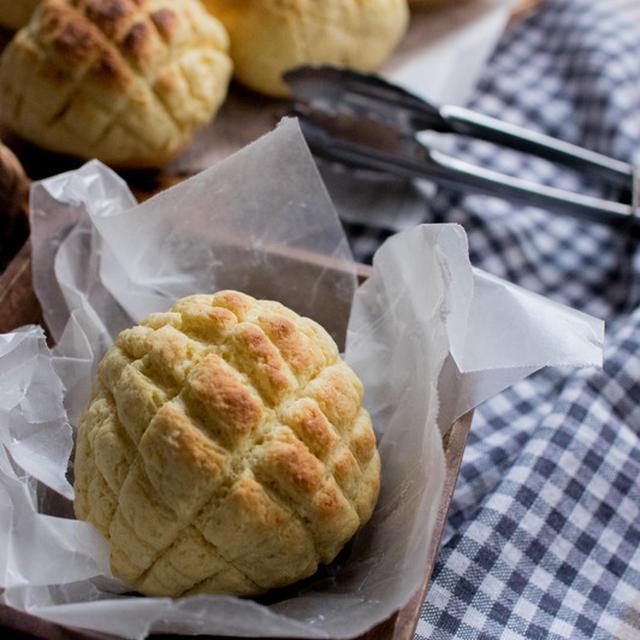 ミニメロンパン風トースト