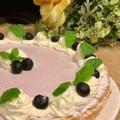 業務用冷凍パイシートでブルーベリーレアーチーズケーキを作りました・今日こそ小学生達とレッスンです